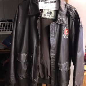 20695c1c573d7 Jackets   Coats - NRA 🔫 Members Only Leather Jacket.